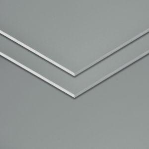 Spessore della pelle di alluminio di alluminio del composto Panel-0.50mm di memoria Fuoco-Rated di esterno 5mm di Aluis dell'argento di Grey blu di PVDF