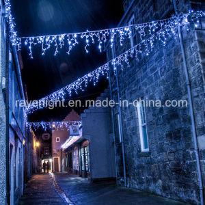 Zeichenkette-Licht-Stern-Eiszapfen-Licht RGB-LED für Weihnachten