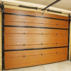 2019 Caja de seguridad y la belleza de la puerta de garaje seccionales automáticas