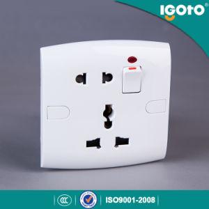 Igoto 영국 공업 규격 E19 현대 전기 벽 스위치 및 소켓