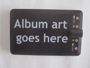 Портативная АС в стиле кредитной карты в формате MP3-плеер (OM-C102)