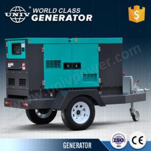 Generatore diesel silenzioso mobile di Tralier