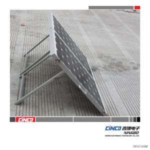 Soporte solar plegable de 2 Paneles PC