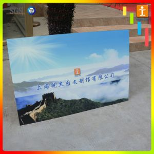 Китай производство ПВХ пенопласта плакат образцы рекламы системной платы