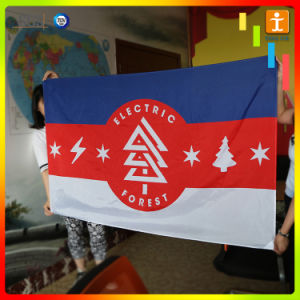 Деловых обедов полиэстер под флагом (TJ-RSH-2)