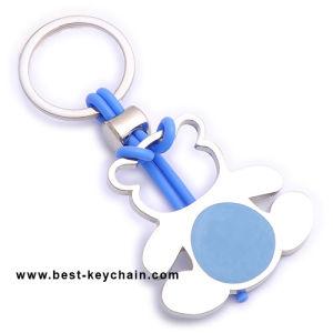 주문 승진 곰 모양 금속 만화 열쇠 고리 (BK10794)