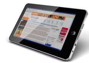 Google Android с возможностью горячей замены 7 сенсорный экран планшетного ПК WiFi нетбук компьютер UMPC Mid с камерой 256 МБ 2GB HD, черного цвета