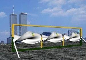 AAB turbina eólica de tejadilho