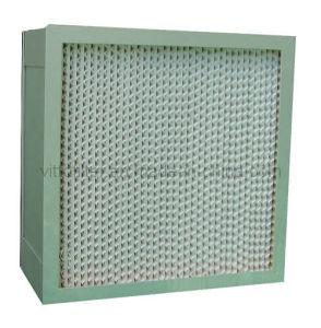 Filtro HEPA absoluta (1220*610*69) Medio filtrante