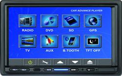 2 DIN 접촉 스크린 DVD 플레이어 (AR-DVD009)