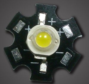 5W Dual Epileds 45mil LED Chip met 20mm PCB Star