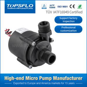 De Alto Rendimiento de larga vida útil de 12V o 24V DC Mini agua caliente eléctrica de la bomba centrífuga sumergible pequeña fábrica de la bomba de agua de circulación
