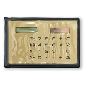 カスタマイズされたロゴの太陽8つのディジットのクレジットカードのサイズの計算機