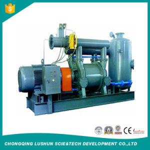 Usina de alta eficiência de renovação do sistema de bomba de vácuo do condensador Water-Ring projecto conjunto da bomba de vácuo
