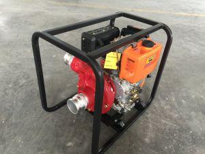 De Dieselmotor van de goede Kwaliteit dreef de Reeks van de Pomp van het Water van het Ijzer aan