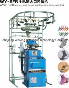 Cilinder van Diameter Computeried van Weiying 6f de Grote mept volledig het Breien Machine/6fb