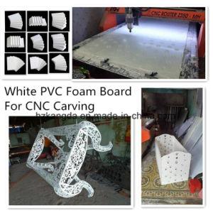 CNC die de Witte Raad van het Schuim van pvc snijden