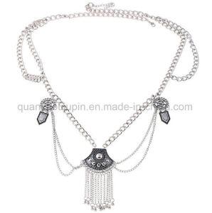 OEM Hot Sale Accessoires de mode à la taille de la chaîne de métal