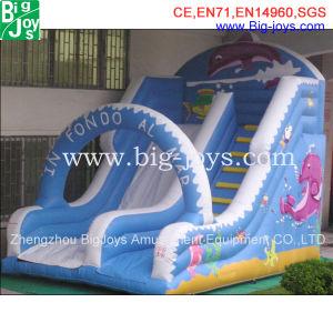 Promoção Colorido Gigante Slide insufláveis personalizados (007)