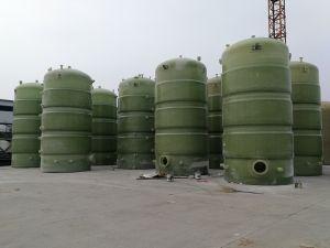 Pvc, pp, PE, CPVC, PVDF, PFA, de Tanks van de Glasvezel GRP FRP