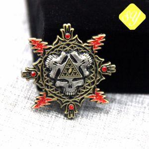 Kundenspezifischer Metallehrenandenken-Herausforderungs-Medaillen-Reverspin-Hersteller