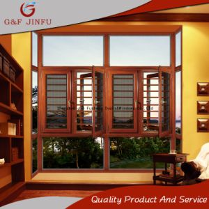 Дверная рама перемещена из алюминия высокого класса с помощью окна сеток безопасности