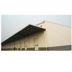 La estructura de acero de viga I Taller de creación de almacenes de venta