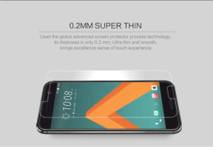 Ultra dünner Bildschirm-Schoner-ausgeglichenes Glas für HTC 10/One M10 anti-explosiv
