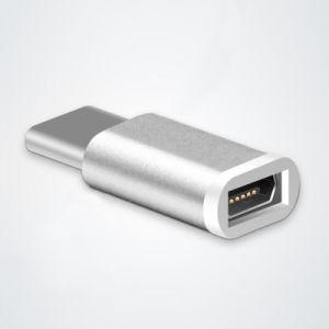 Huaweiのための小型マイクロUSBの女性のタイプCのアダプターのコンバーター
