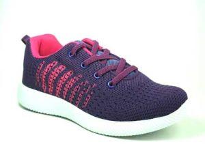 Novo design do Tecido Flyknit Kids Tênis Boy sapatos de desporto