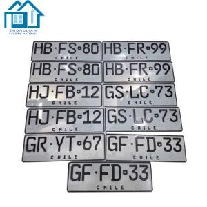 卸し売り車番号文字の金属のナンバープレートフレーム
