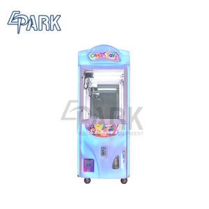 Máquina de jogos de gruas de garra Crazy Toy 2 Grua de jogo da máquina para venda