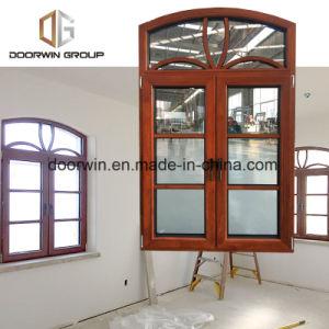 Buona finestra aperta rotonda di alluminio della Cina