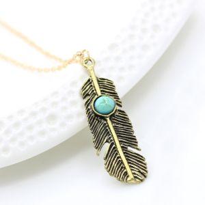 De Halsband van de Tegenhanger van de Vlinder van het Hart van de Veer van de uil