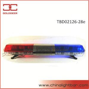 Leistungs-rotes Blau-Farbe LED, die Lightbar (TBD02126-28e, warnt)
