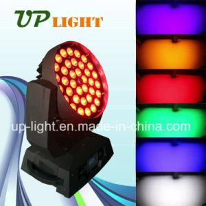 36*18W UV+RGBWA 6en1 Zoom moviendo la cabeza LED con lavar