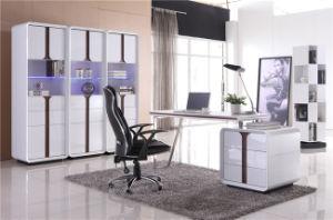 Qualität MDF-Buch-Regal für Bibliotheks-Möbel (XWJ-190)