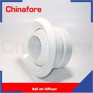 Diffusore registrabile del diffusore a getto dell'aria della sfera dell'occhio di ventilazione di HVAC