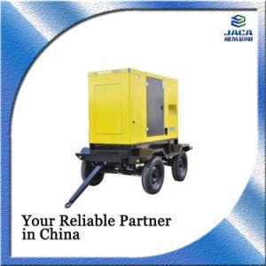 9kVA-300kVA geradores a diesel de Reboque móvel portátil com ATS