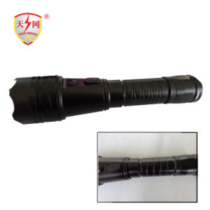 高い発電の強いアルミニウム自衛の懐中電燈(1109B)はスタン銃を