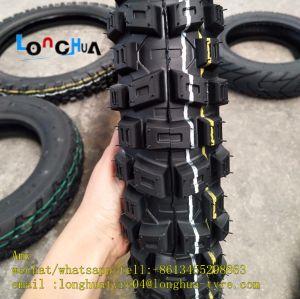 高品質(2.75-17)のクロス・カントリーの糸パターンオートバイのタイヤ