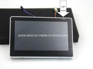 Планшетный ПК на базе Android Poe дома с датчика температуры и влажности
