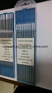 タングステンの電極、純粋なタングステンの電極、ランタンのタングステンの電極Length150&175mm