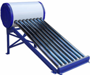 De gegalvaniseerde/Verwarmer van het Water van de Lage Druk van het Roestvrij staal Zonne