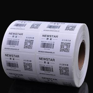 Китай поставщик 4''x6'' пустым наклейку Термочувствительных Label транспортировочные бирки рулонов