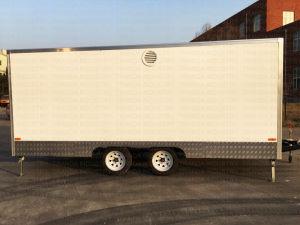 La crème glacée modernes camions remorques de camion de restauration Hot Dog