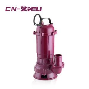 Prezzo della benzina India dell'acqua dell'alloggiamento della pompa del ghisa di serie di Wqd della fabbrica della pompa di Zheli