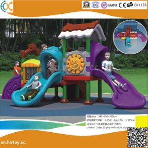 高品質の子供のための屋外のプラスチック遊園地装置