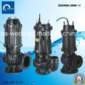 Wqd/Wq/V versenkbare Abwasser-Wasser-Pumpe, schmutzige Wasser-Pumpe