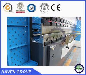 Cnc-hydraulische Presse-Bremsen-Maschine, Stahlplatten-verbiegende und faltende Maschine, CNC-Presse-Bremse